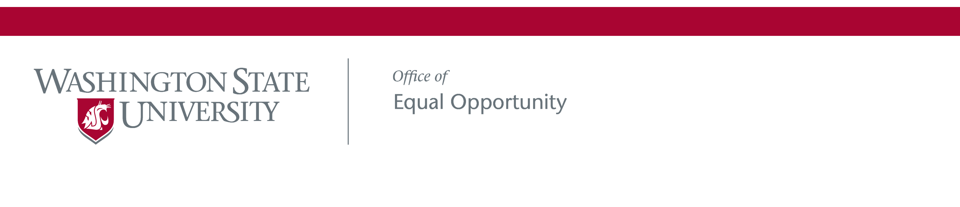 Washington State University | Office for Equal Opportunity