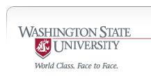 Washington State University - World Class. Face to Face.