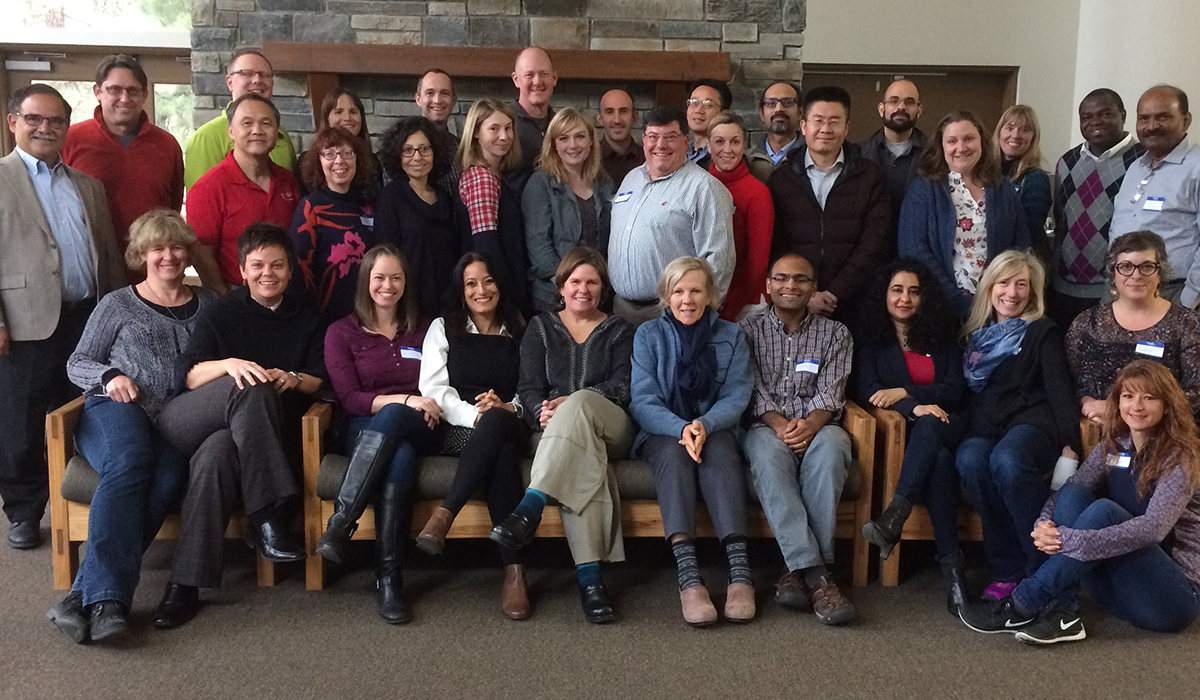 Faculty members attend the Provost's Leadership Academy